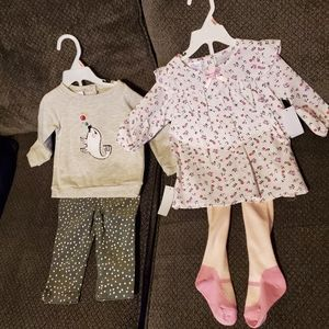 NWT Adorable baby girl outfits